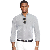 Polo Ralph Lauren Hairline Striped Poplin Shirt