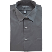 Van Heusen Fitted Lux Sateen Dress Shirt