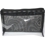 Allegro Basics Clear Pull Apart Foldover Clutch