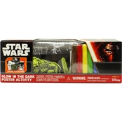 Star Wars Glow in the Dark Poster Activity Set
