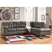 Signature Design By Ashley Alliston DuraBlend 2 Pc. Sectional RAF Chaise/LAF Sofa