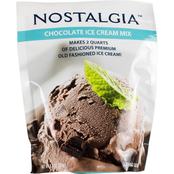 Nostalgia Electrics Chocolate Flavored Ice Cream Mix