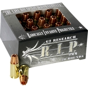 G2 RIP 9mm 92 Gr. Lead Free Copper, 20 Rounds