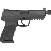 HK HK45 Tactical 45 ACP 5.2 in. Threaded Barrel 10 Rds 2-Mags NS Pistol Black