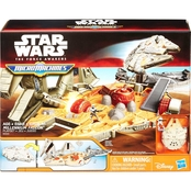 Star Wars The Force Awakens Micro Machines Millennium Falcon Playset