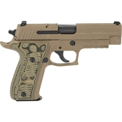 Sig Sauer P226 Scorpion 9mm 4.4 in. Barrel 10 Rnd 2 Mag Pistol Flat Dark Earth