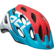 Cadence Helmet, Red/Wht/Blue