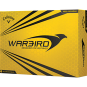 Callaway Warbird Yellow Golf Balls 12 pk.