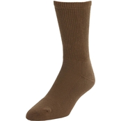 DLATS Marine Corps Boot Socks, Brown