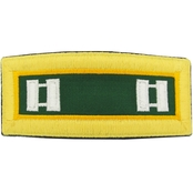 Army CPT Military Police Male Shoulder Straps