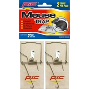 PIC Wood Mouse Traps 2 Pk.