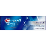 Crest 3D White Luxe Diamond Strong Teeth Whitening Toothpaste 3.5 Oz.