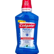Colgate Peroxyl Mouth Sore Rinse, Mild Mint 16.9 oz.