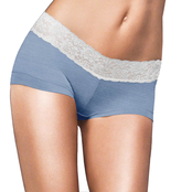 Maidenform Cotton Dream Lace Boyshort Panties