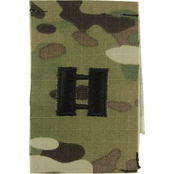 Army Rank Captain (CPT) Sew-On (OCP), 2 Qty per pkg