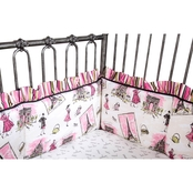 Trend Lab Waverly Tres Chic Crib Bumpers