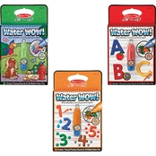 Melissa & Doug Water Wow Animals, Alphabet and Numbers Paint Kit