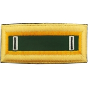 Army CW5 Military Police Female Shoulder Straps