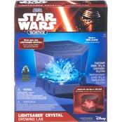 Uncle Milton Star Wars Science Lightsaber Crystal Growing Lab