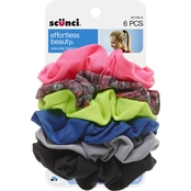 scunci Effortless Beauty Woven Twisters 6 Pk.