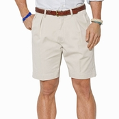 Polo Ralph Lauren Classic Fit Pleated 9 in. Chino Shorts