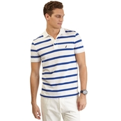 Nautica Sportswear Striped Deck Polo Shirt