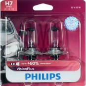 Philips VisionPlus H7 Bulbs