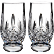 Waterford Lismore Footed Tasting Tumbler Pair