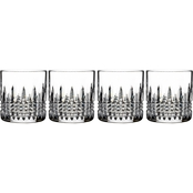 Waterford Lismore Diamond Straight Sided Tumbler 4 pc. Set
