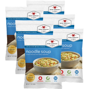 Wise Emergency Food Noodle Soup 6 pk.