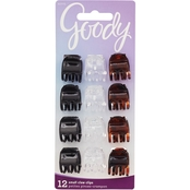 Goody Classic 3 Prong Mini Claw Clips