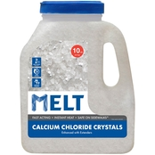Snow Joe MELT 10 lb. Jug Calcium Chloride Crystals Ice Melter