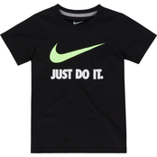 Nike Little Boys Just Do It Swoosh Jersey Tee