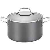Circulon Genesis Hard Anodized Nonstick 4.5 qt. Covered Dutch Oven
