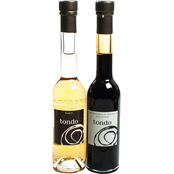 The Gourmet Market Tondo Balsamic Vinegar Duo