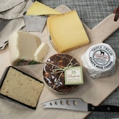 The Gourmet Market Panforte and Cheese Assortment