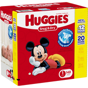 Huggies Snug and Dry Diapers Size 1 (8-14 lb.)