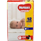 Huggies Snug and Dry Diapers Size 1 (8-14 lb.) Choose Count