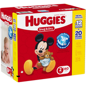 Huggies Snug and Dry Diapers Size 2 (12-18 lb.) Choose Count