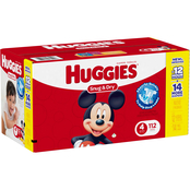 Huggies Snug and Dry Diapers Size 4 (22-37 lb.)