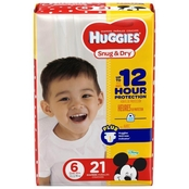 Huggies Snug and Dry Diapers Size 6 (35+ lb.)