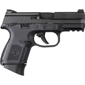 FN FNS-9C 9MM 3.6 in. Barrel 10 Rds 3-Mags Pistol Black