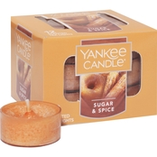 Yankee Candle Sugar & Spice Tea Light Candle