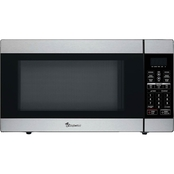 Magic Chef 1.8 Cu. Ft., 1100W Stainless Microwave With Digital Touch