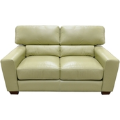Omnia Leather Jacob Loveseat