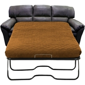 Omnia Leather Vegas Full Sofa Sleeper