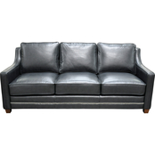 Omnia Italian Leather Fifth Avenue Sofa