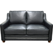 Omnia Leather Fifth Avenue Loveseat