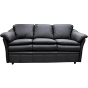 Omnia Italian Leather Uptown Sofa