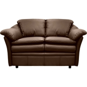 Omnia Italian Leather Uptown Loveseat